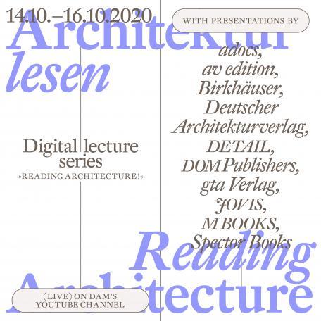READING ARCHITECTURE – ARCHITEKTUR LESEN!